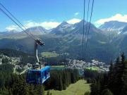 Arosa. View from Cabin