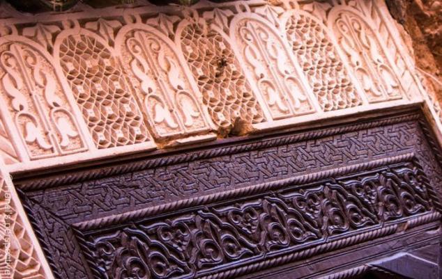 Door decoration, Medina of Marrakech