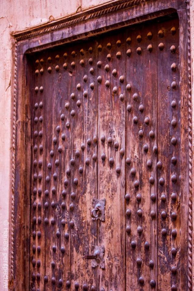 Old door, Medina of Marrakech