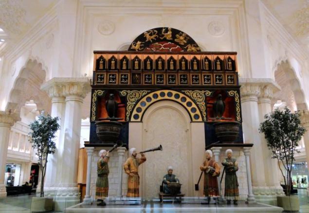 Water Clock, Ibn Battuta Mall