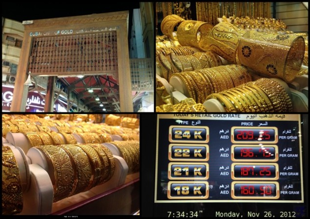 Gold Souk of Dubai: All that glitters, is gold here