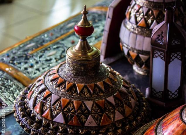 Decorative Tagine, Old Souk of Marrakech