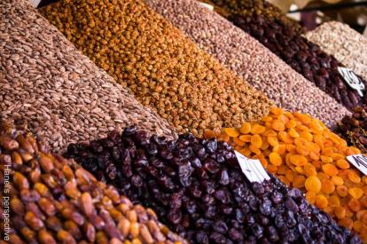 Dry Fruit and Nuts; Souk, Marrakech