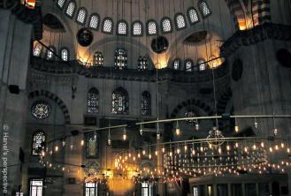 Suleymani Mosque inside
