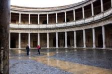 The Castle of Carlos, Alhambra, Granada