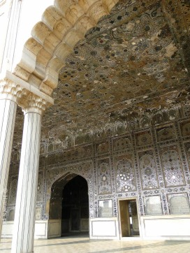 Sheesh (=Mirror) Palace, Lahore Fort, UNESCO Heritage site