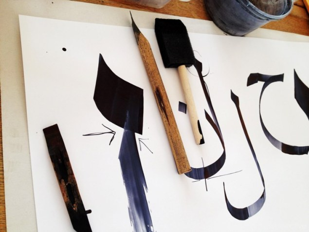 Calligraphy Basics,  Iphone 4s