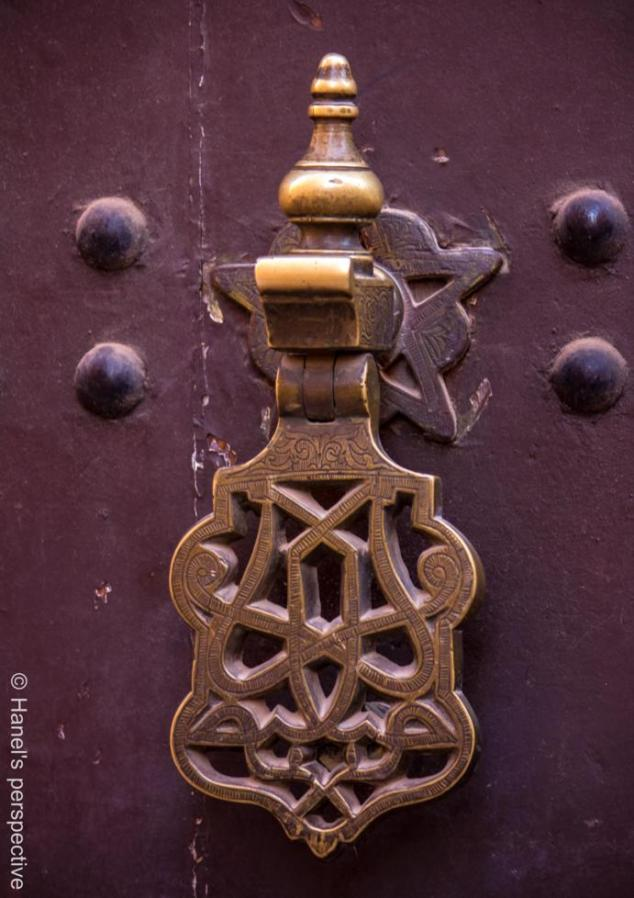 Doorbell, Door knocker, Marrakech
