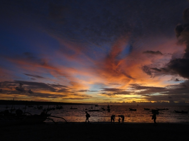 Sunset at Jimbaran Beach, Bali