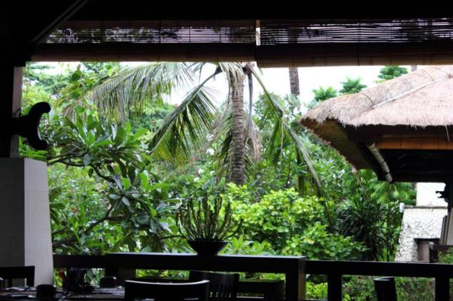 Nusa Dua; View from our Breakfast Hall