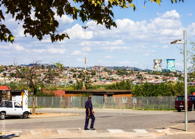 View over Soweto, Joburg