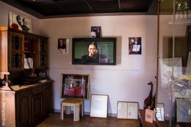 Mandela House: Collection of memorabilia, photos, certificates, documents
