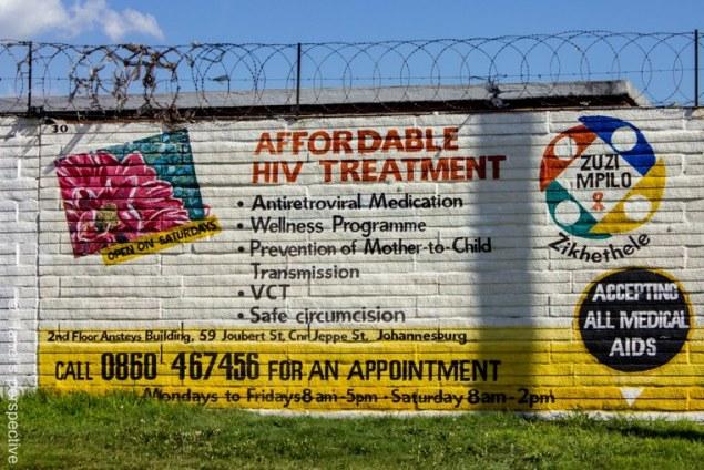 Seen infront of hospital, Soweto, Johannedburg