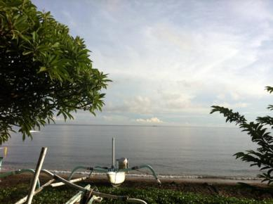 Amed, Bali: Snorkling Site and lavastone Beach