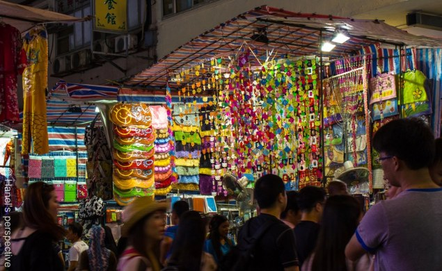 Ladies Market, Mongkok by night
