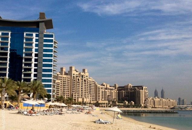 Dubai: Palm Jumeirah Beach