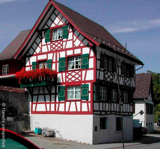 From lines to patterns: Chalets of Switzerland