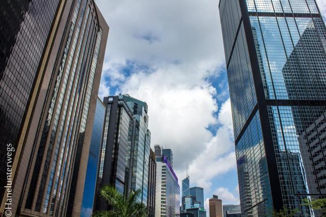 Hong Kong Buildings unusual POV