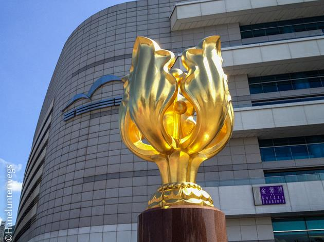Bauhinia blakeana: The sculpture is deemed an important symbol for the Hong Kong people after the handover