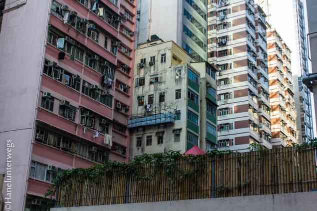 Hong Kong Buildings POV: older parts of Hong Kong