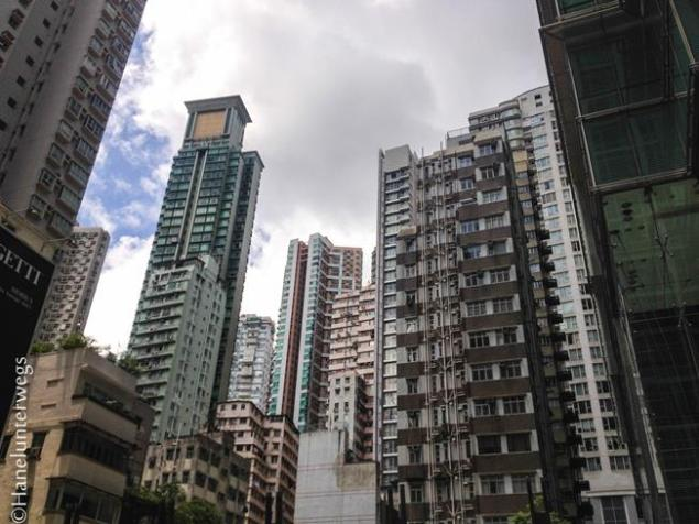 old part of Hong Kong
