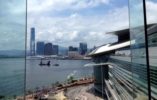 Hong Kong: from the Congress Center
