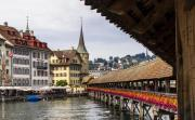 Wooden Chapel Bridge of Lucerne, Lucerne's city sign