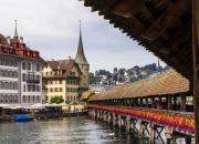 Wooden Chapel Bridge of Lucerne, Lucerne's city sign
