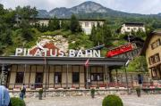Pilatus Bahn: world's steepest cogwheel train