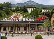 Pilatus Bahn: world's steepest cogwheel train