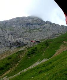 World's steepest cogwheel train to the Pilatus