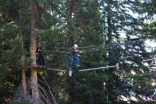 suspension rope park, Pilatus
