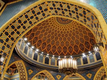 Dubai: Ibn Battuta mall: square geometric design