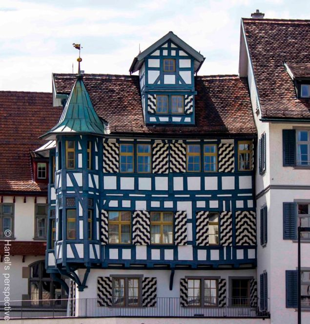 St. Gallen Traditional house with lines and patterns