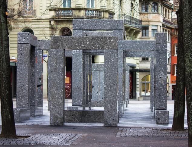 a monument in Zurich