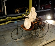 Ancient vehicle from Swiss transport Museum